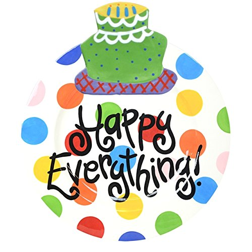 Coton Colors Happy Everything Big Platter - Bright Dot,