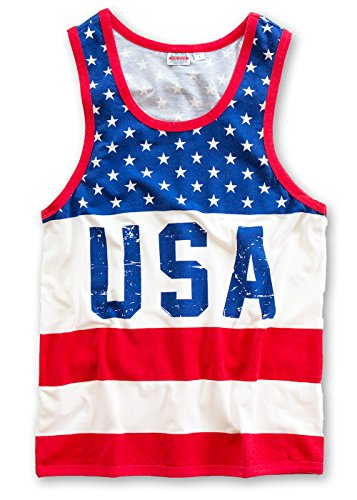 Mens-Retro-USA-Patriotic-Tank-Top