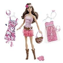 Barbie Fashionistas Teresa Ultimate Wardrobe Boho Chic Doll (japan import)
