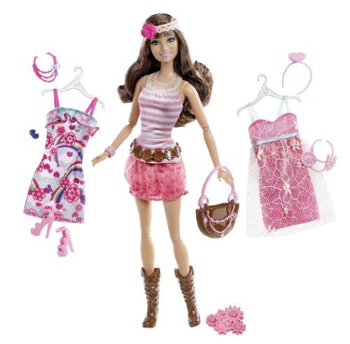 Barbie Fashionistas Teresa Ultimate Wardrobe Boho Chic Doll (Barbie 2012)