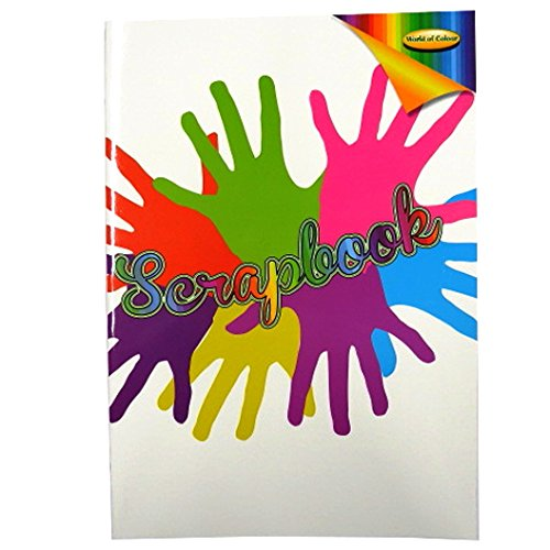 A3 Colour Splash Large Scrapbook - 64 Pages - Mixed (Smooth Gloss Wide Format Paper)
