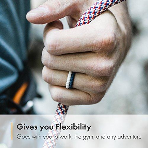 Enso Rings Braided Silicone Rings Premium Fashion Forward