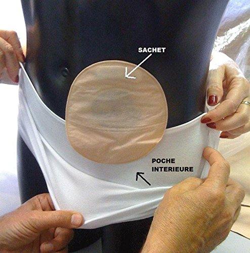 Faja para Ostomizados Orione Art.3055 Talla M/L > 105 - 125 cm: Amazon.es: Salud y cuidado personal