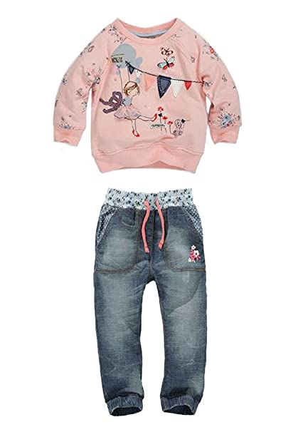Amazon.com: EGELEXY Baby Kids Girls Cute Pattern Pink ...