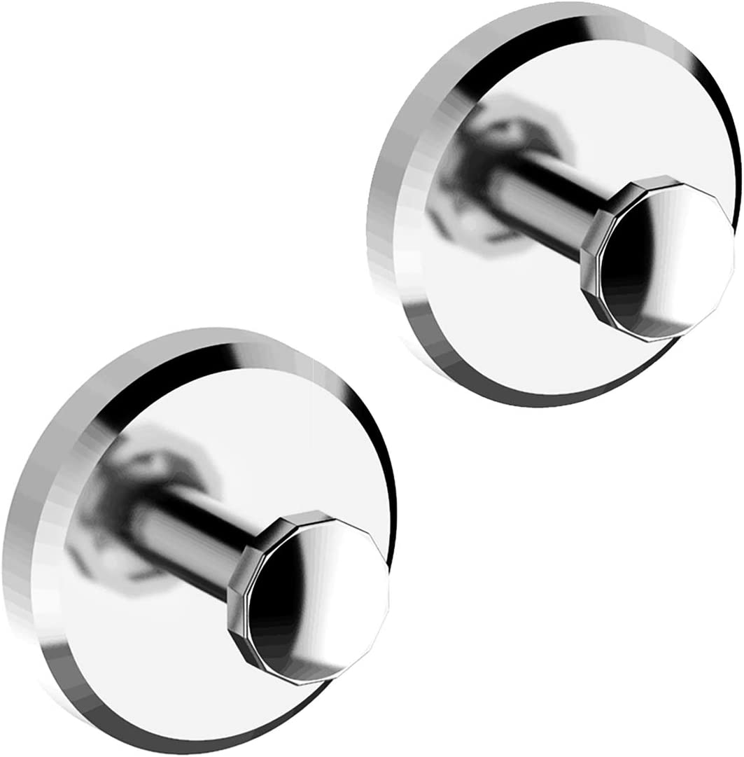Bathroom Hook with Suction Cup Hook Holder Bathroom hook//Towel Hooks Home Robe 2 Pack Bathroom Kitchen Removable Shower Kitchen Hooks Hanger Stainless Steel Heavy Duty Wall Hooks for Towel