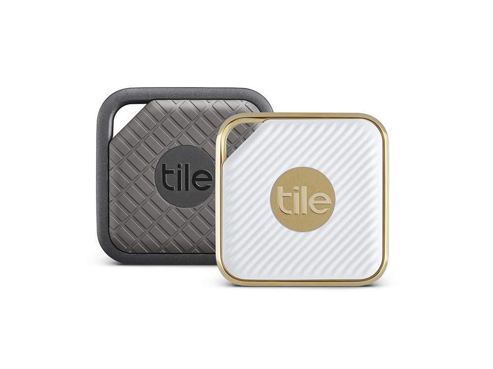 Tile Combo Pack - Key Finder. Phone Finder. Anything Finder (1 Tile Sport and 1 Tile Style) - 2 Pack