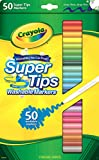 Toys : Crayola Super Tips Markers, 50 Count