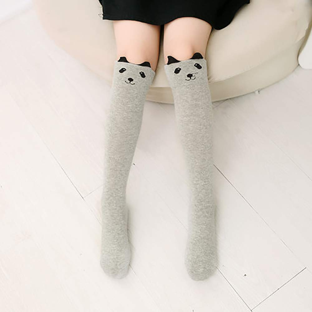 beiguoxia Comfortable Stockings Kids Girls Cartoon Stockings Fashion Over Knee Thigh High Elastic Long Socks Give Your Child Better Socks
