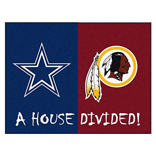 House Divided - FANMATS NFL House Divided Nylon Face House Divided Rug (10307)