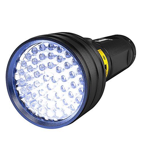 UV Flashlight Black Light, Eroboo 51 LED Ultraviolet Blacklight Pet Urine Detector