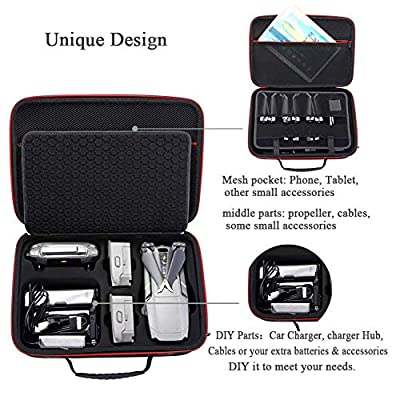 DJI Mavic 2 Zoom with Fly More Kit Fearless Bundle – 3 Batteries, Refresh Care, Professional Carrying Case and More