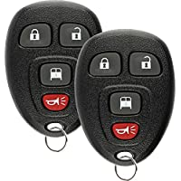 Discount Keyless Entry Remote Control Car Key Fob Clicker For Chevrolet Express OUC60270 (2 Pack)