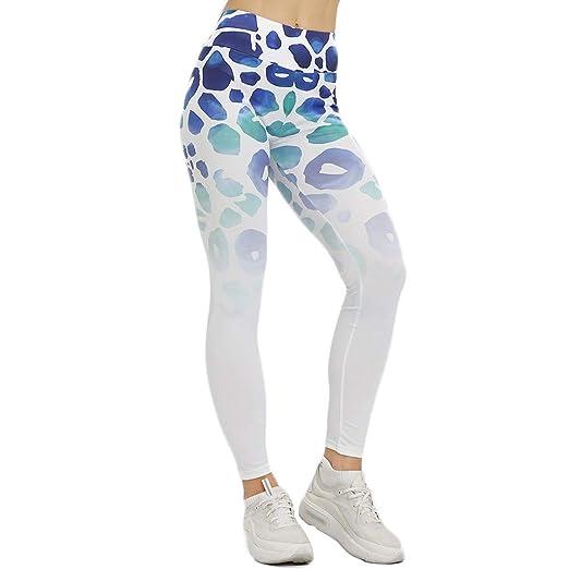 Mallas Fitness de Mujer, Pantalón de Mujer Leggings Opaca ...