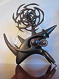 Kinetic Art Sculpture Rhinoceros Handcrafted