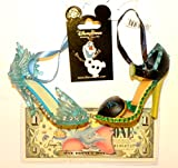 Disney World WDW Park Set 2014 Frozen Princess Elsa Anna Shoe Slipper Christmas Ornaments Olaf Pin Dumbo Dollar