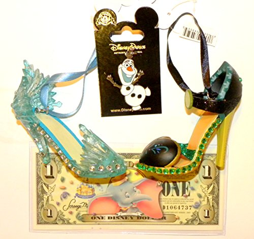 Disney Princess Slipper Christmas Ornaments