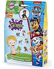 Simba Glibbi Paw Patrol, 105953531, badspeelgoed, poeder transformeert water in een groene, gelachtige massa en terug, met badsticker, 300 g, vanaf 3 jaar, kabouters, kerstcadeau voor kinderen