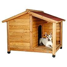 Trixie 39511 Rustic Dog House, Small, Glazed Pine