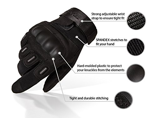 The 8 best motorcycle gloves with hard knuckles