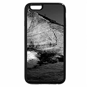 iPhone 6S Case, iPhone 6 Case (Black & White) - guadeloupe beach