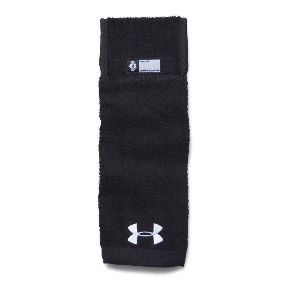 Under Armour Men's Undeniable Player Towel, Black/Black, One Size by Under Armour (Image #1)