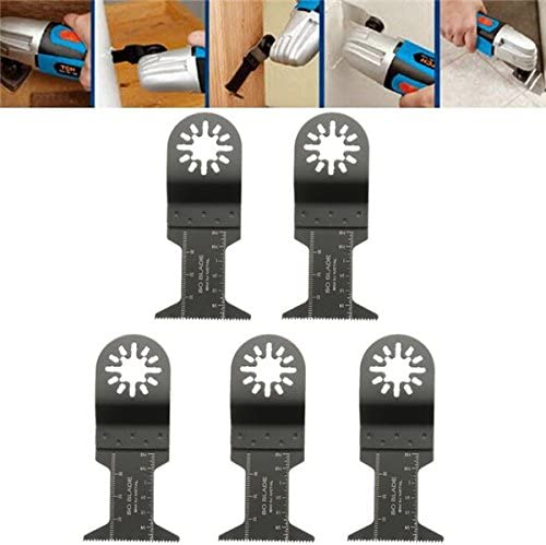 5Pcs Saw Blade Oscillating Multi Tool Set For FEIN BOSCH Cable Makita Multitool