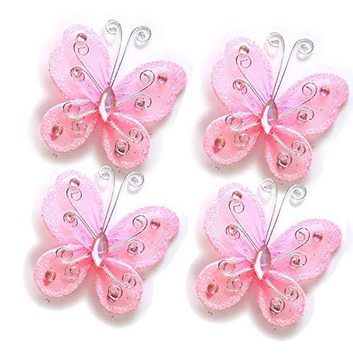 - 40-Pack Organza Butterflies 2