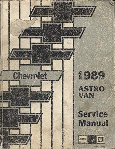 Chevrolet 1989 Astro Van Service Manual