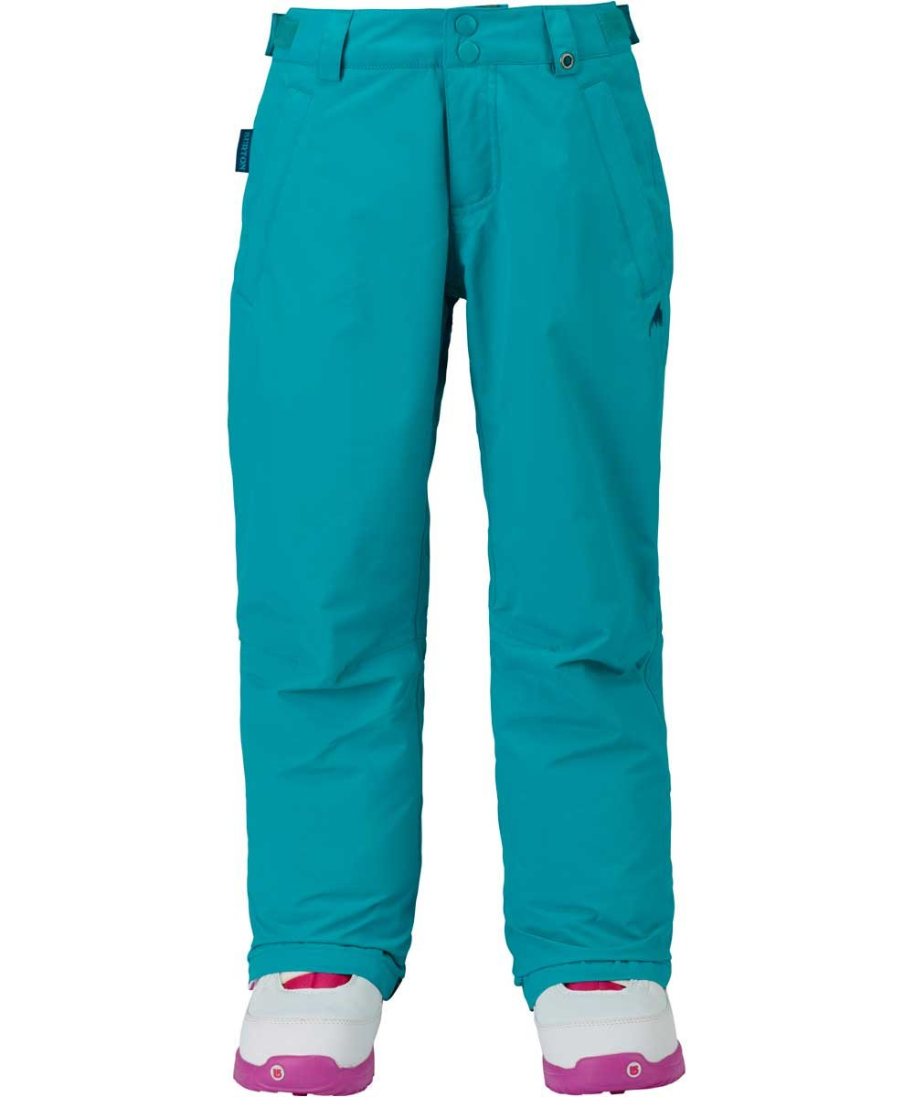 Burton Kids Girls Sweetart Snow Pants Everglade Size X-Large