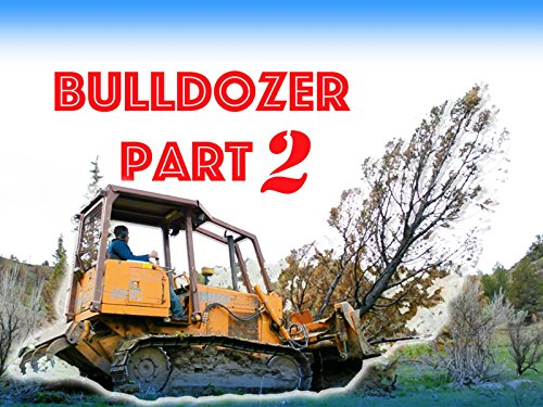 Construction Bulldozer Plowing Trees For Kids Part 2