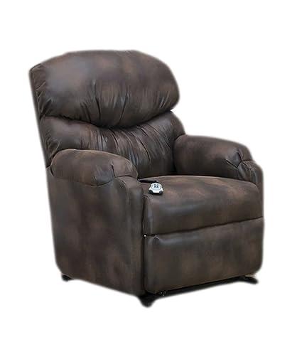 Med Lift Full Sleeper Reclining Lift Chair   Vista   Saddle