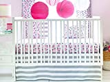 New Arrivals 2 Piece Crib Bed Set, Paper Moon