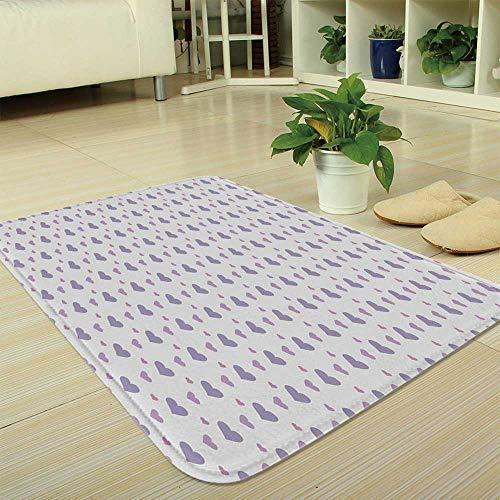 TecBillion Polyester Carpet,Kids,for Meeting Room Dining Room,35.43