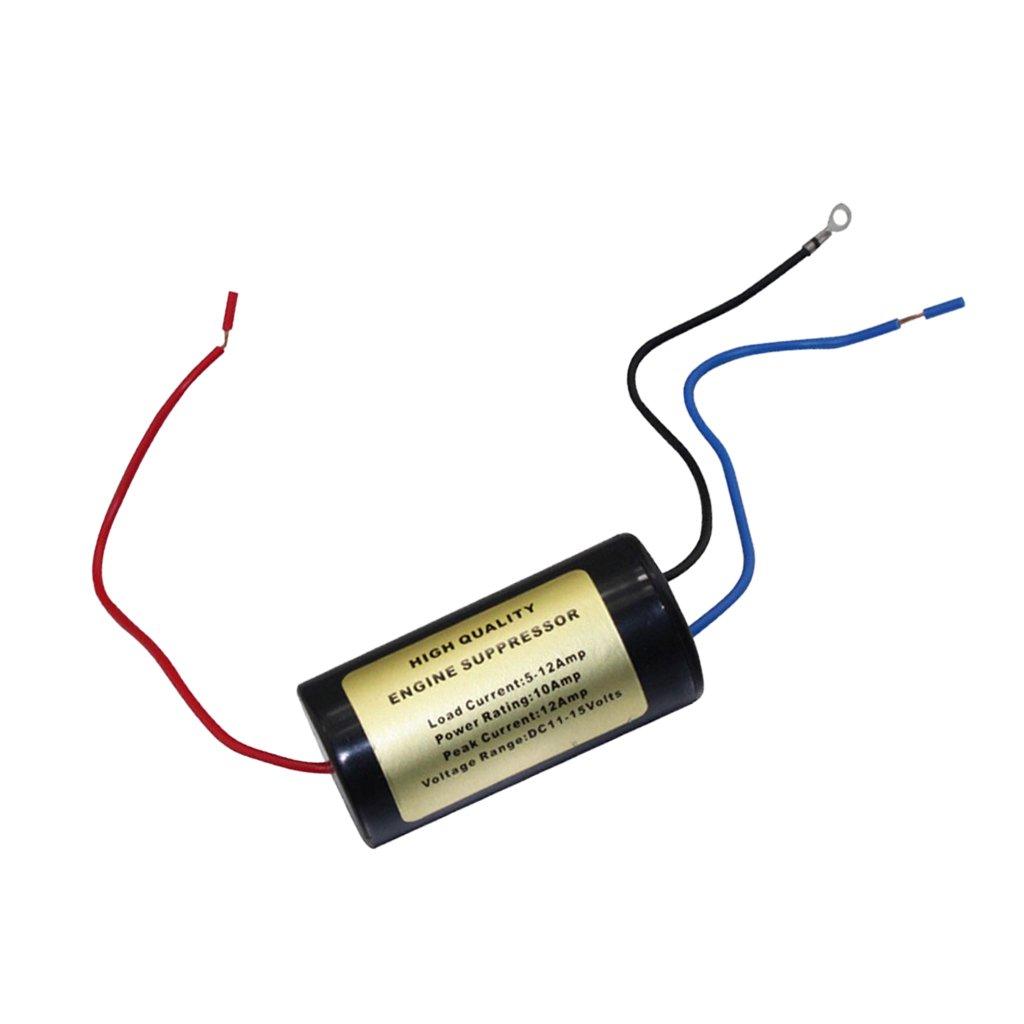 H HILABEE El Audio Est/é para Autom/óvil del Supresor De Filtro De Ruido CB//Radio De 12Amp Parte Nf-102 AD185