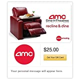 AMC Theatres Dine In Gift Cards - E-mail Delivery