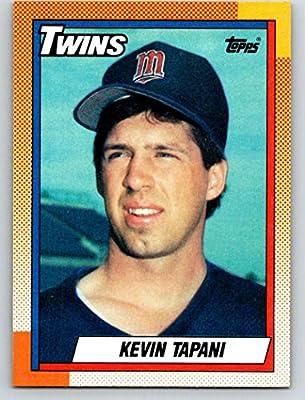 Amazoncom 1990 Topps 227 Kevin Tapani Mint Baseball Mlb Rc Rookie