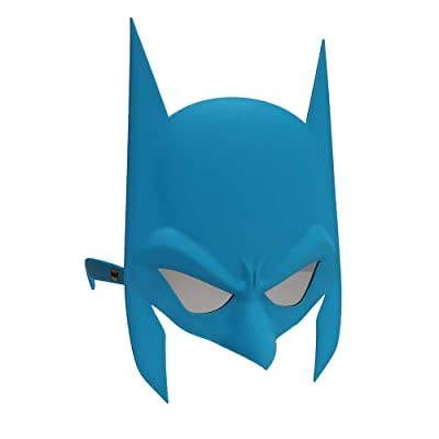 Licensed DC Comics Batman Blue Mask Shades, Superhero Costume Party Sunglasses UV400: Toys & Games
