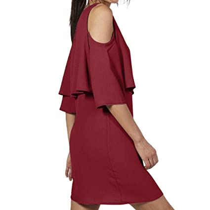 f33ed4c3993e Amazon.com  Hunzed Women Summer Mini Dress