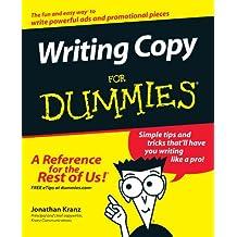 Writing CopyFor Dummies