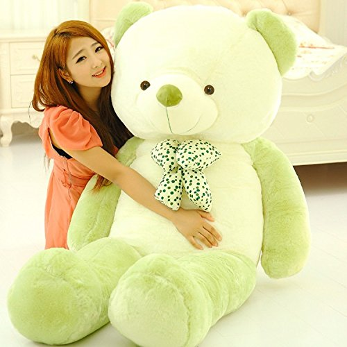 VERCART 63 inch Green Giant Huge Cuddly Stuffed Animals Plush Teddy Bear Toy Doll by VERCART