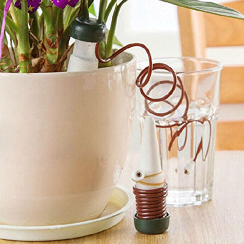 Set Automat - Watering Kits - 1pc Creative Gardening Flower Pot Plant Potted Automatic Watering Kits Set Drip Device Water Can - Kits Watering Watering Kits Self Garden Hose Automat Water Timer Plant Flow