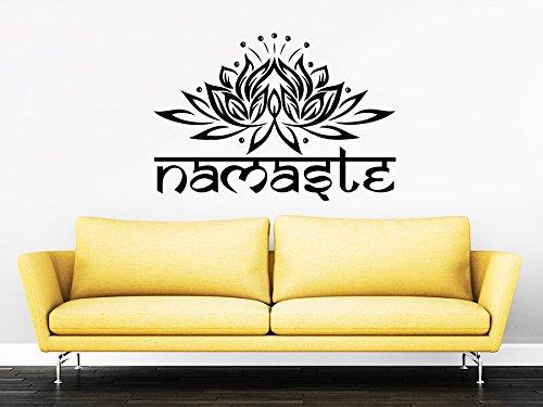 Wall Decals Yoga Namaste Murals