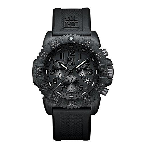 Luminox Men's 3081.BO Quartz Black Dial Carbon Reinforced Polycarbonate Watch (Watch Carbon Dial)