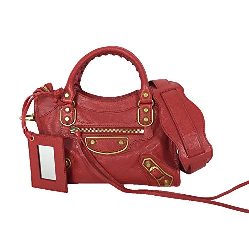 fc645aa1bb Balenciaga Classic Metallic Edge Mini City AJ Crossbody Bag, Rouge Red -  Buy Online in UAE. | Shoes Products in the UAE - See Prices, Reviews and  Free ...