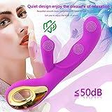 Adult Sex Toys Dildo Vibrator 2 in 1 G-Spot Anal