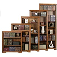 Eagle Oak Ridge Open Bookcase, 48, Medium Oak Finish