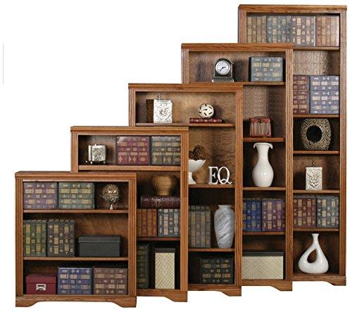 - Eagle 93348NGDK Oak Ridge Open Bookcase, 48