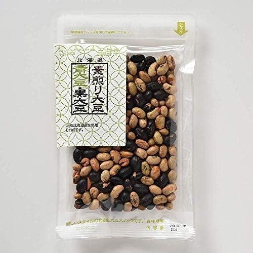 三海幸 素煎り青大豆・黒大豆ミックス 80g