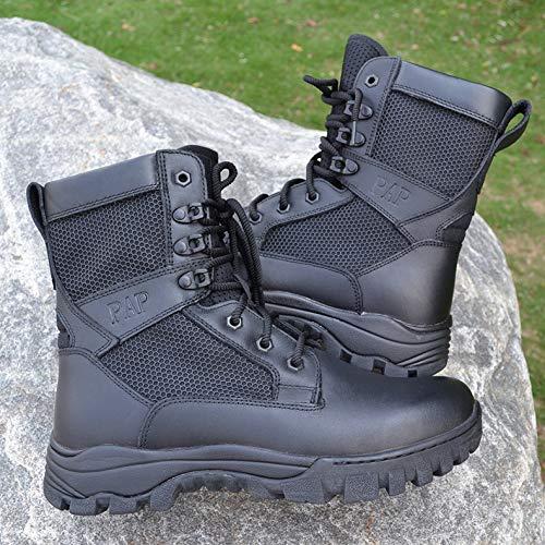 HCBYJ Schuhe Männer Männer Männer Militärstiefel Frühjahr und Herbst Kampfstiefel ultraleichte Militärstiefel Spezialeinheiten Taktische Stoßdämpfung bf4d10