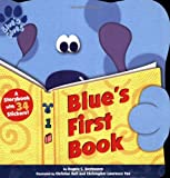Blue's First Book (Stickers `n' Shapes)